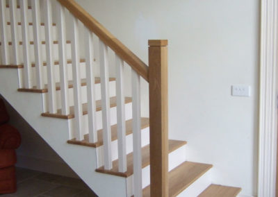 carpentry example - fitted stairs