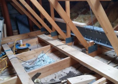 carpentry example Attic with RSJ1
