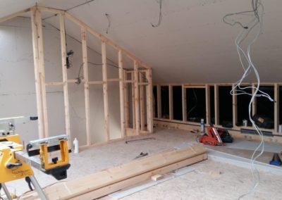 attic conversion in progress