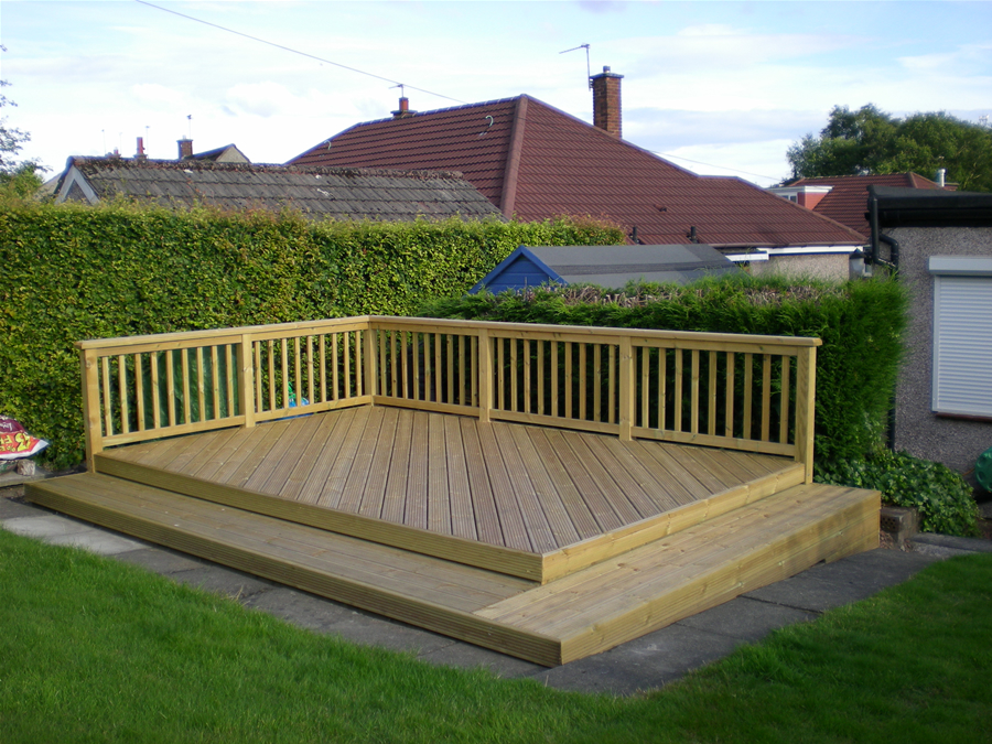wicklow carpenter - decking example